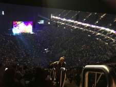 View of Cher from Seat Block 409 at The O2 Arena