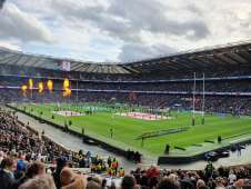 View of  from Seat Block at Twickenham Stadium