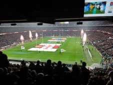 View of Eng v Aus from Seat Block M18 at Twickenham Stadium