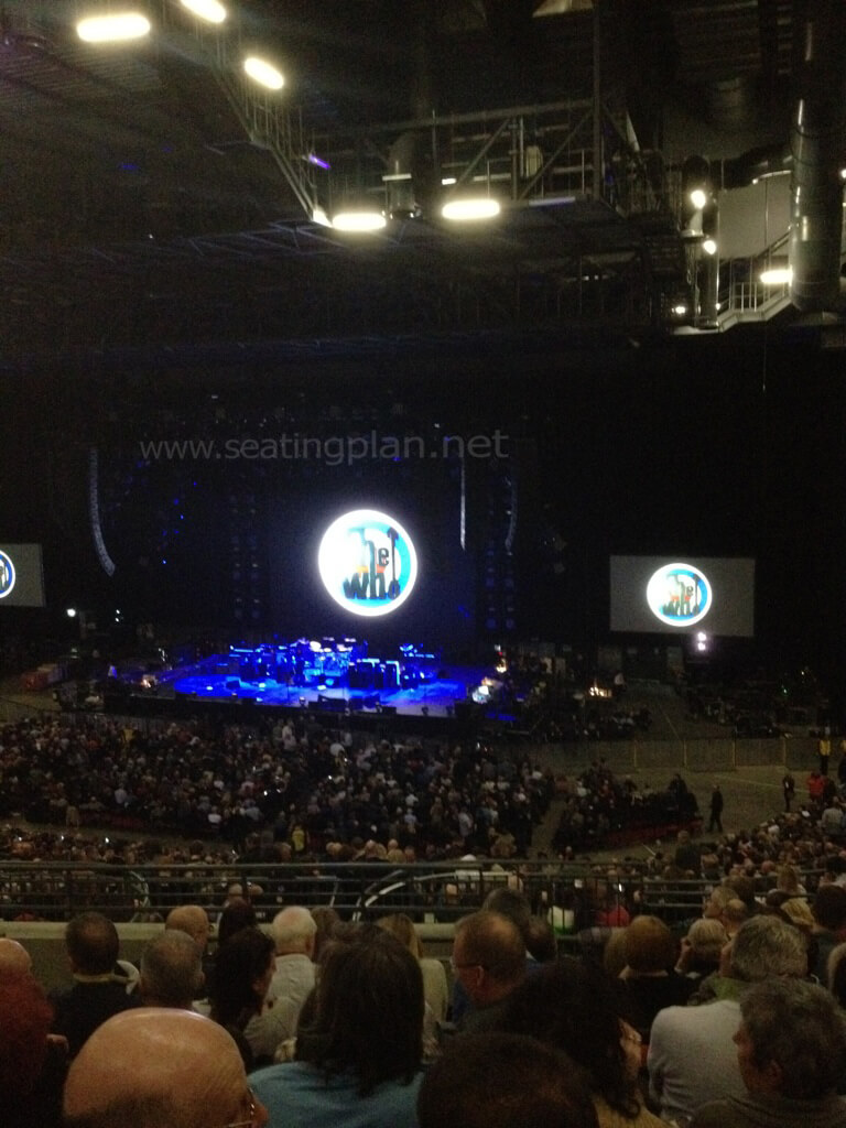 View from Seat Block 217 at First Direct Arena
