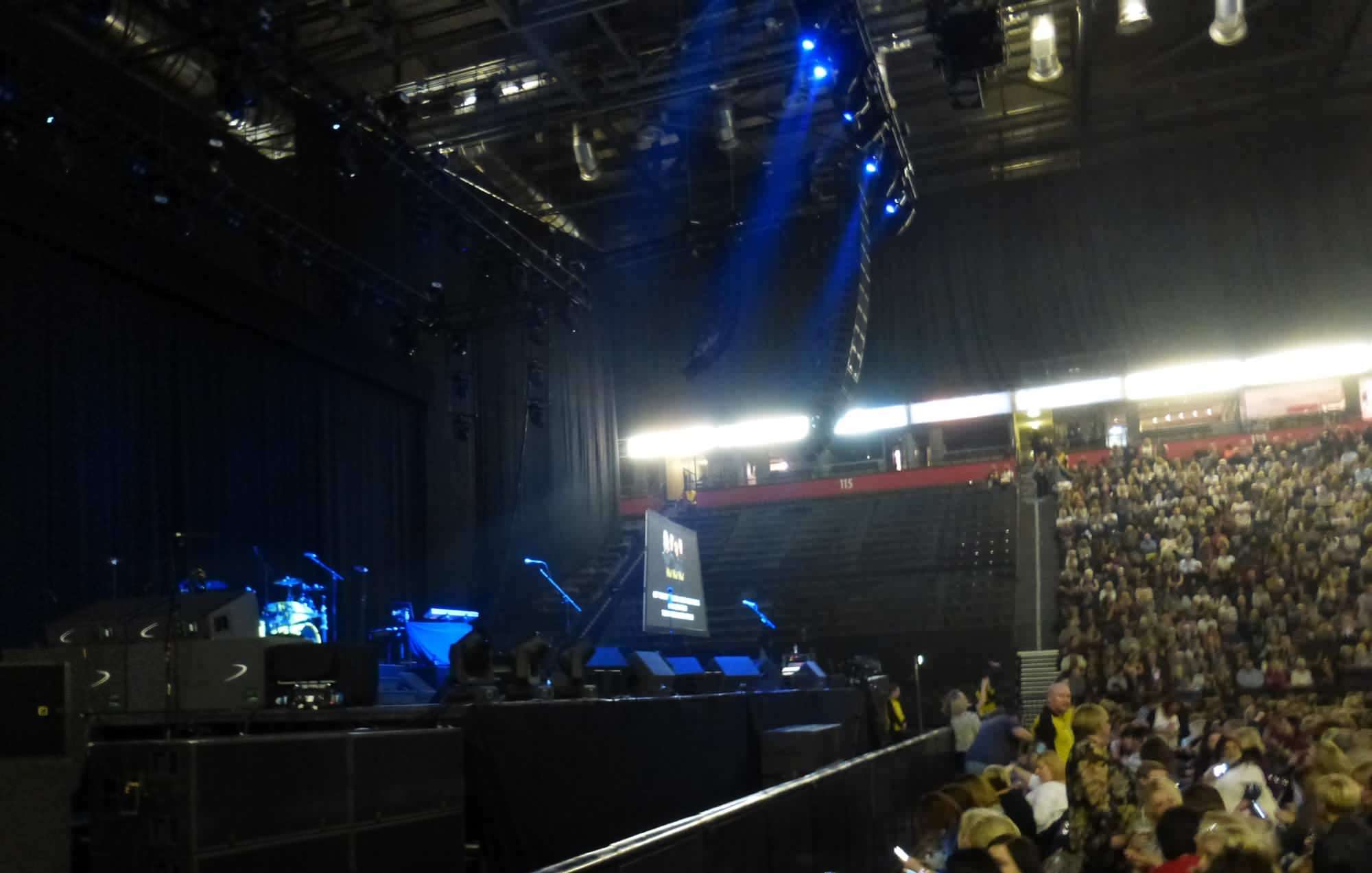 View from Seat Block 102 at Manchester Arena
