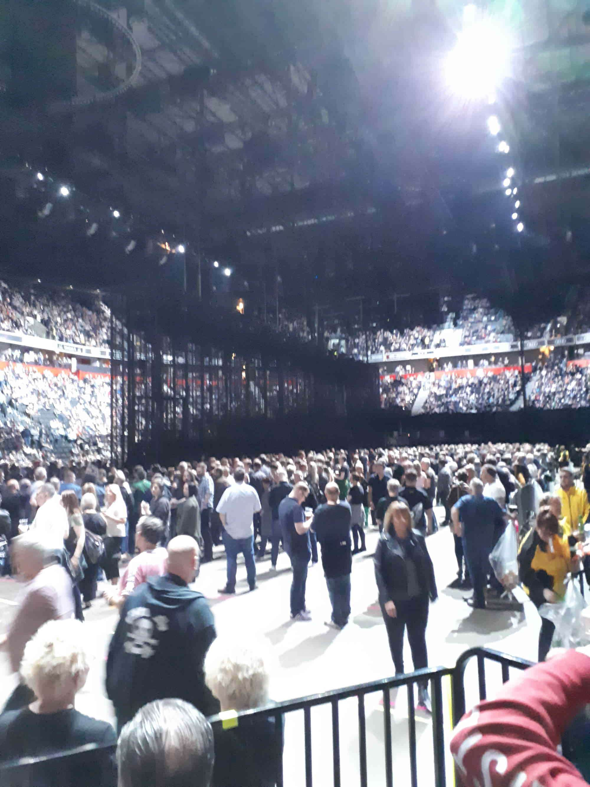 View from Seat Block 111 at Manchester Arena