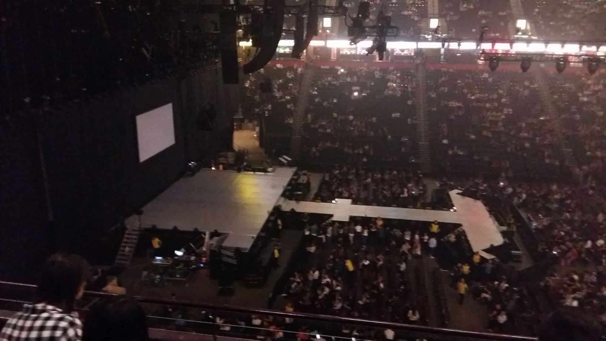 View from Seat Block 202 at Manchester Arena