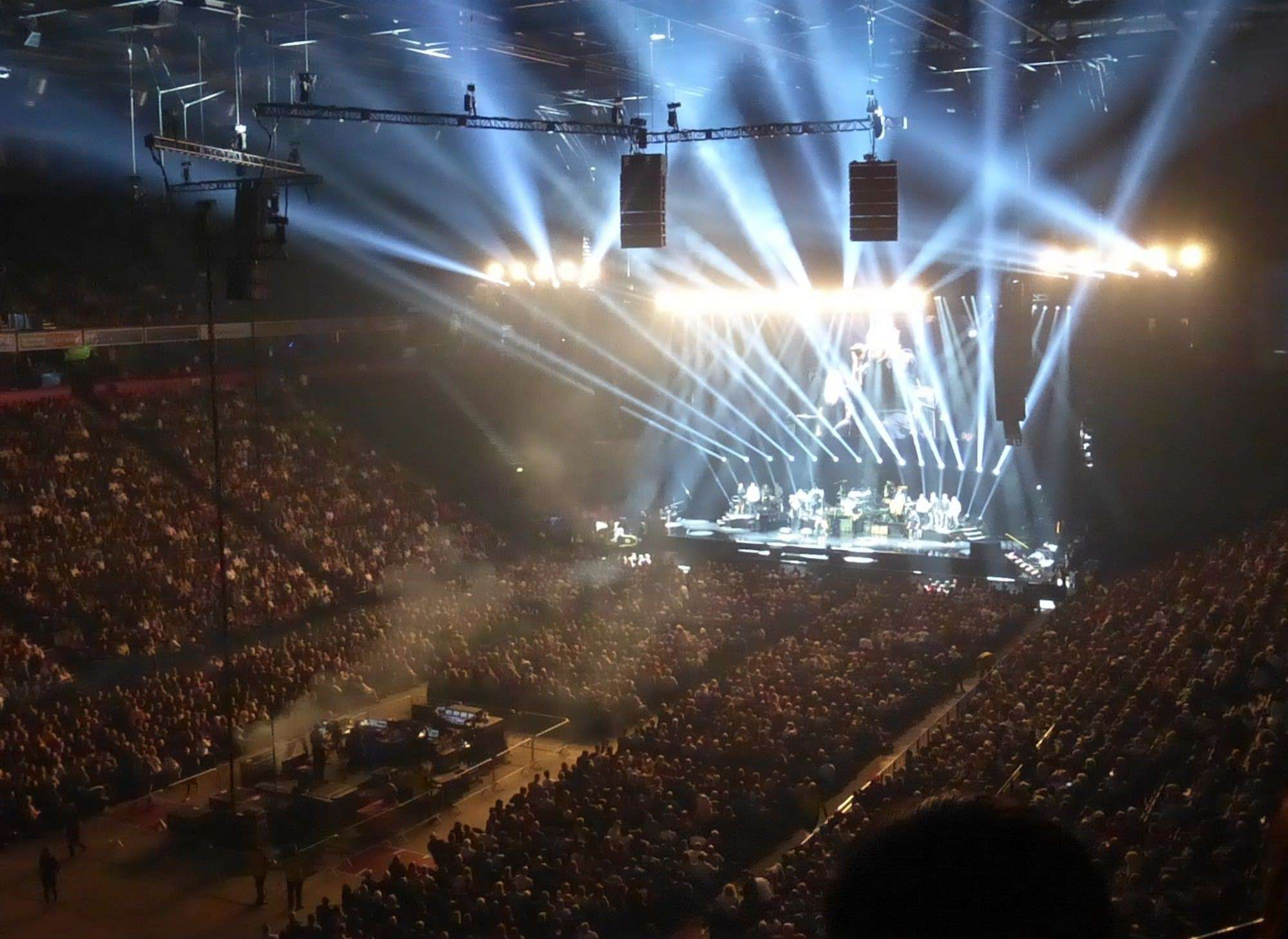 View from Seat Block 211 at Manchester Arena