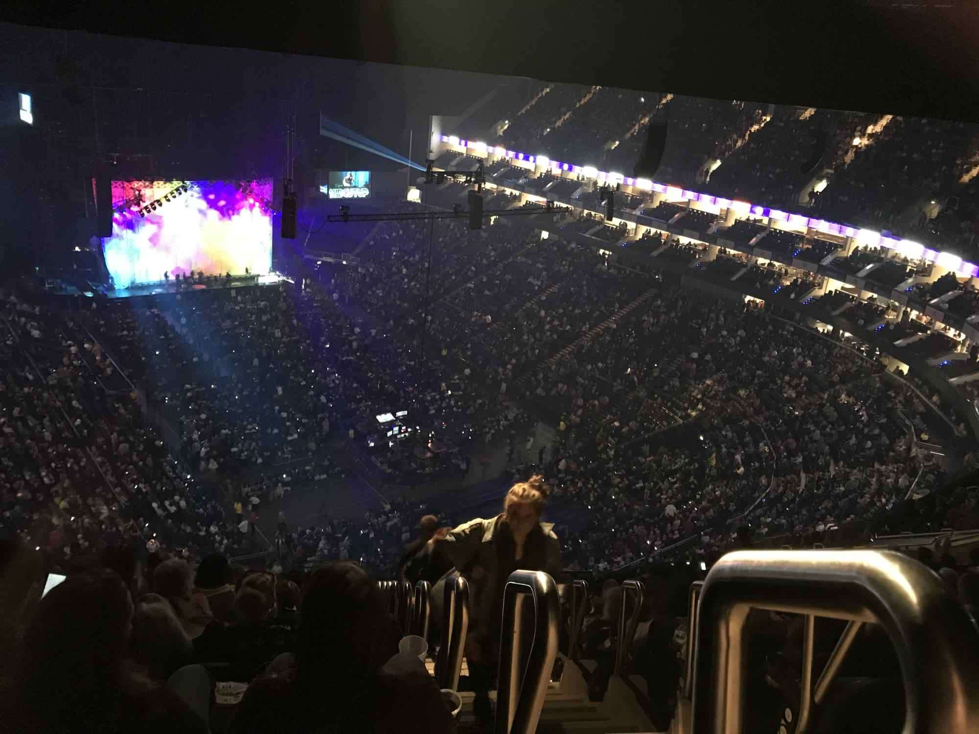 View from Seat Block 409 at The O2 Arena