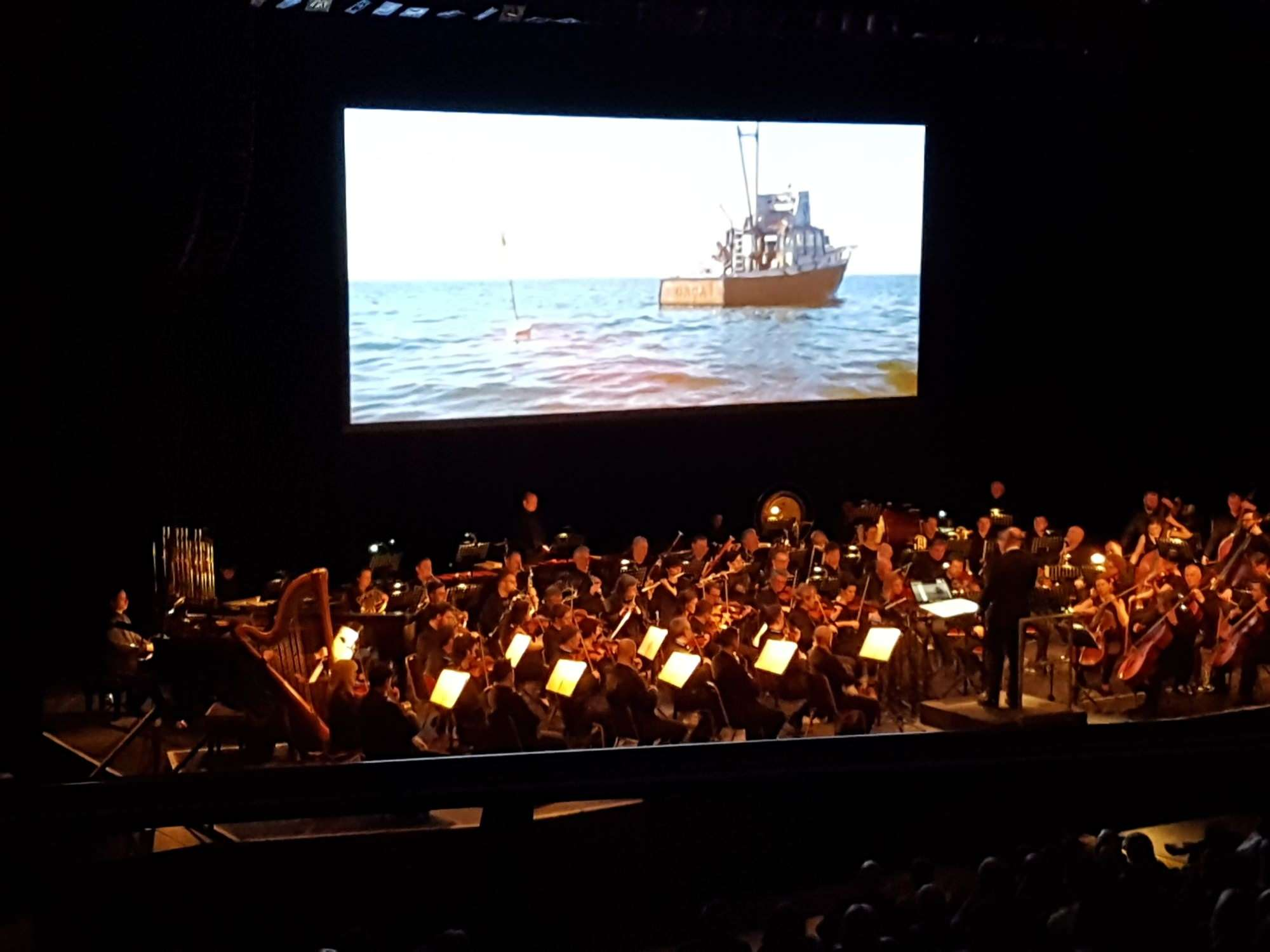 View from Seat Block Upper Circle at York Barbican